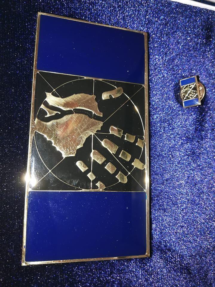 Aranykéz Emlékplakett Galiotti Gábornak